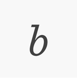 Sentinel italic b